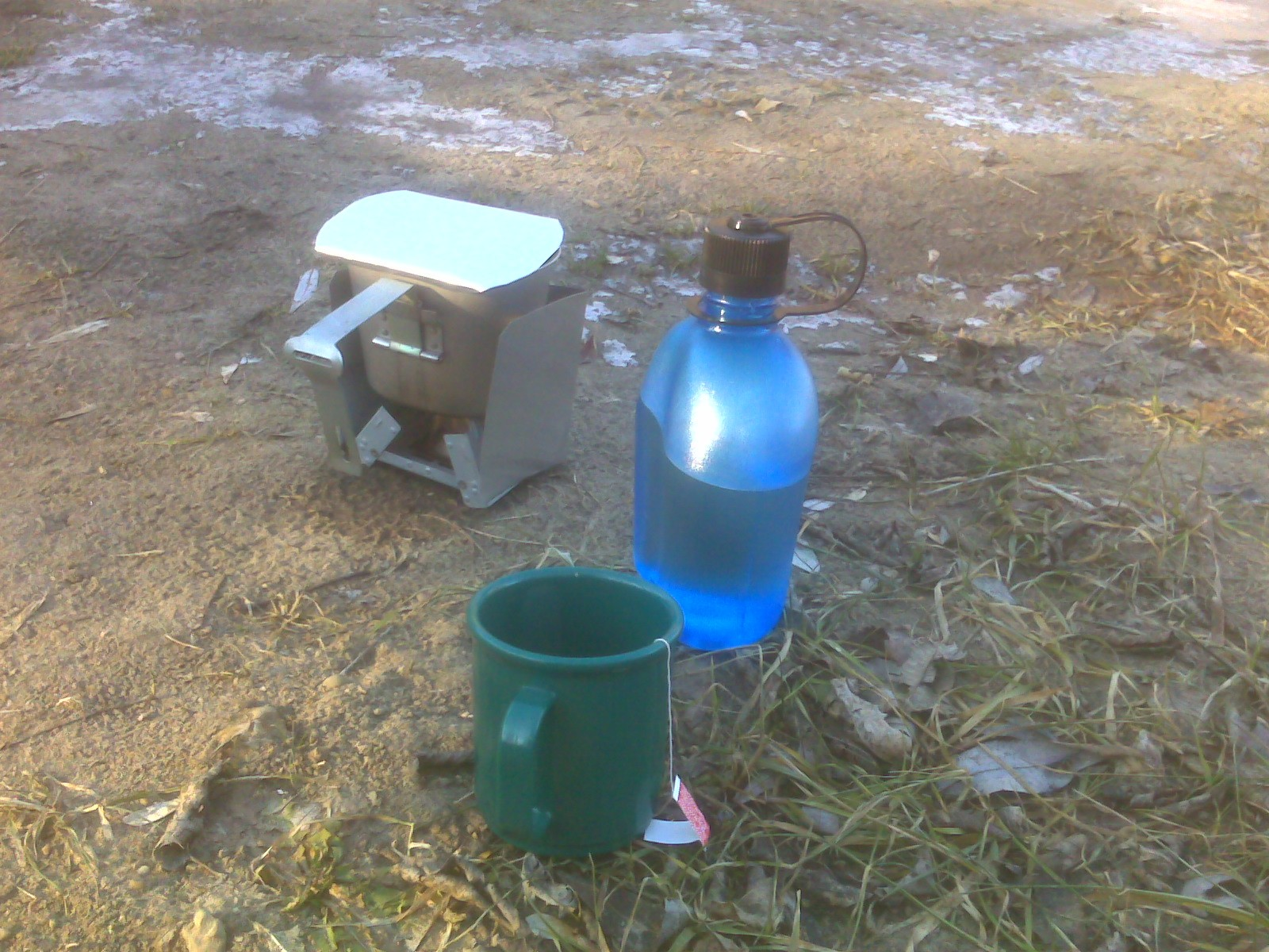 Esbit stove and home made windscreen - ETS Forums
